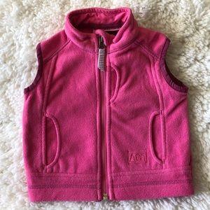 REI fleece vest for girls